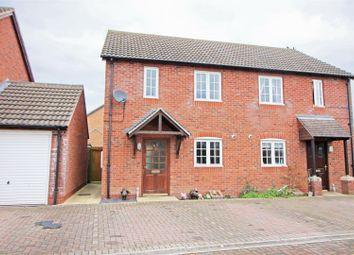 Thumbnail 2 bed semi-detached house for sale in Pippistrelle Close, North Leverton, Retford