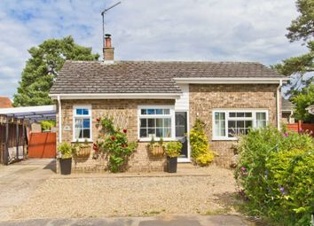 Thumbnail 4 bed detached bungalow for sale in Old Vicarage Park, Narborough, King's Lynn