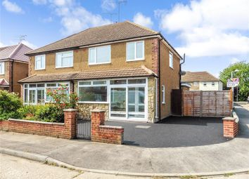 Thumbnail 3 bed semi-detached house for sale in Park Close, Wickford, Essex