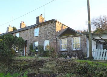 Thumbnail 2 bed end terrace house for sale in The Terrace, Polbathic, Torpoint, Cornwall