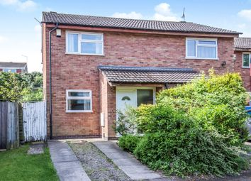 Thumbnail 2 bed semi-detached house for sale in Copeland Avenue, Leicester