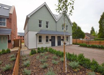 Thumbnail 3 bed semi-detached house for sale in The Valders, Linsford Lane, Mytchett