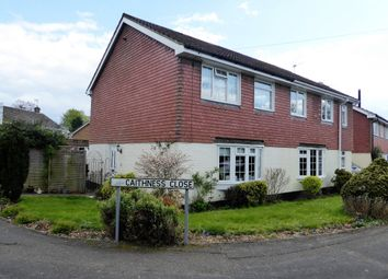 Thumbnail 3 bed semi-detached house to rent in Caithness Close, Oakley, Basingstoke