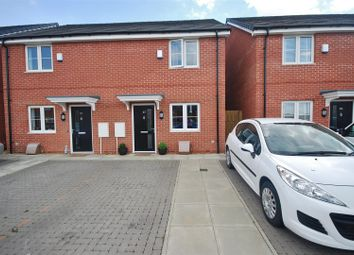 Thumbnail 2 bed semi-detached house for sale in Arnham Way, Off Malting Lane, Donington, Spalding