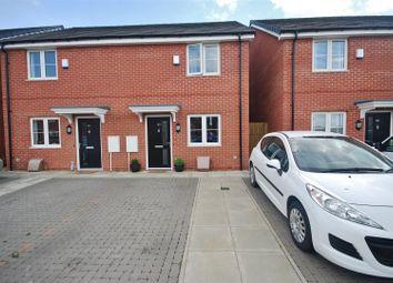 Thumbnail 2 bedroom semi-detached house for sale in Arnham Way, Off Malting Lane, Donington, Spalding