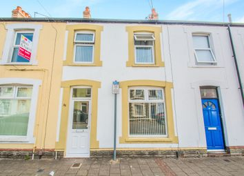 Thumbnail 2 bed terraced house for sale in Bradley Street, Roath, Cardiff