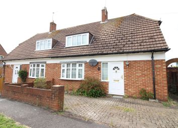 Thumbnail 3 bed semi-detached house for sale in Clare Crescent, Leatherhead