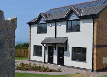 Thumbnail 2 bedroom town house for sale in Gwel Y Mor, Off Ysguborwen Road, Dwygyfylchi, Conwy