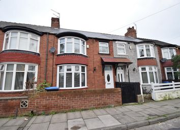 Thumbnail 3 bed terraced house for sale in Carlow Street, Middlesbrough