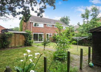 Thumbnail 3 bed semi-detached house for sale in Rye Close, North Walsham
