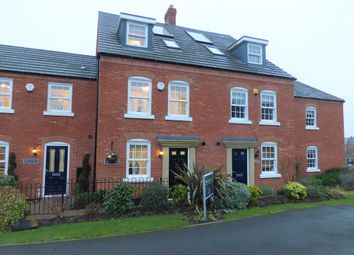 Thumbnail 4 bed terraced house for sale in The Helmsley, Greenkeepers Road, Great Denham, Bedford