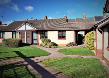 Thumbnail 2 bed terraced bungalow for sale in De Montfort Court, Anstey, Leicester