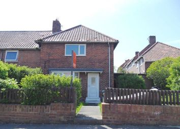 Thumbnail 2 bed semi-detached house for sale in Aycliffe Avenue, Gateshead