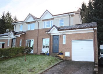 Thumbnail 3 bed semi-detached house for sale in 3 Lochlann Avenue, Culloden, Inverness