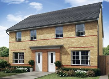 "Thumbnail 3 bed semi-detached house for sale in ""Maidstone"" at Holme Way, Worksop"