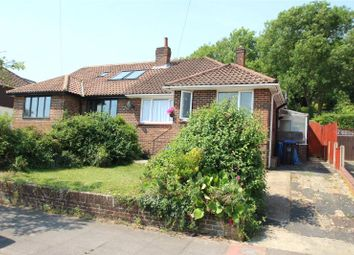 Thumbnail 3 bed semi-detached bungalow for sale in Parham Road, Findon Valley, Worthing