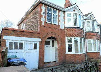 Thumbnail 3 bed semi-detached house for sale in Lytham Road, Manchester