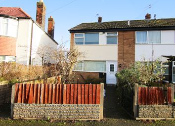 Thumbnail 3 bed end terrace house for sale in Gardens Road, Bebington, Wirral