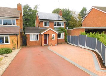 Thumbnail 4 bed detached house for sale in Elm Close, Great Haywood, Stafford