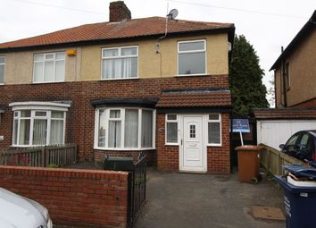 Thumbnail 3 bed semi-detached house for sale in Shipley Avenue, Newcastle Upon Tyne