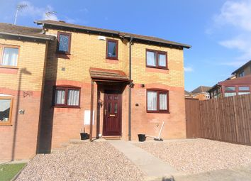 Thumbnail 3 bed semi-detached house for sale in Robins Hill, Brackla, Bridgend.