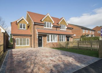 Thumbnail 3 bed semi-detached house for sale in Greenmore, Woodcote, Reading