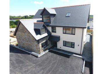 Thumbnail 5 bed detached house for sale in New Road, Brynmenyn
