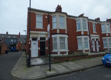 Thumbnail 3 bed flat to rent in Warton Terrace, Heaton, Newcastle Upon Tyne