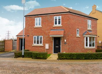 Thumbnail 3 bed detached house for sale in Stretham Gardens, Papworth Everard, Cambridge