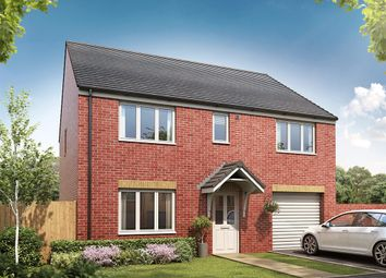 "Thumbnail 5 bedroom detached house for sale in ""The Tiverton "" at Skipping Block Row, Wymondham"