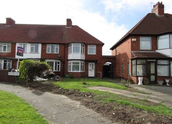 Thumbnail 3 bed end terrace house to rent in Belchers Lane, Bordesley Green, Birmingham