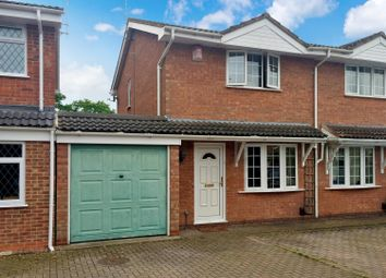 Thumbnail 2 bed semi-detached house to rent in Lordswood Close, Redditch