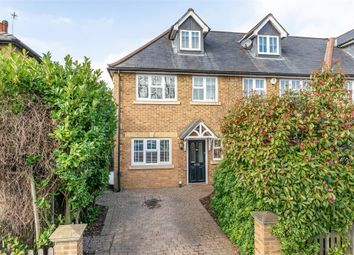 Thumbnail 4 bed semi-detached house for sale in Molesey Road, Hersham, Surrey