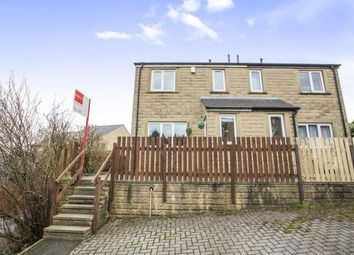 Thumbnail 2 bed semi-detached house for sale in Fairview Terrace, Halifax, West Yorkshire