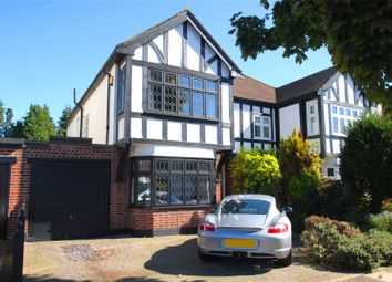 Thumbnail 4 bed semi-detached house for sale in Roxburgh Avenue, Upminster