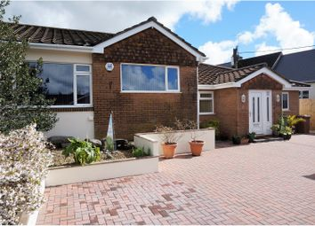 Thumbnail 3 bed semi-detached bungalow for sale in Foxwood Gardens, Plymouth
