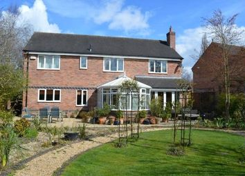 Thumbnail 5 bed detached house for sale in The Crescent, Rothley, Leicester, Leicestershire