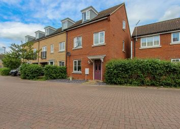 Thumbnail 4 bed town house for sale in Bittern Grove, Soham, Ely