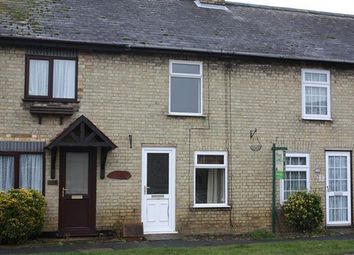 Thumbnail 2 bedroom terraced house to rent in Mill Green, Warboys, Huntingdon