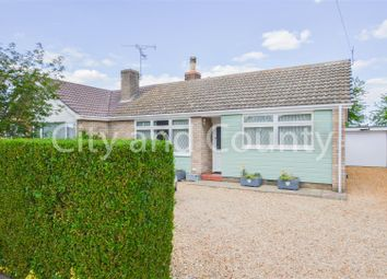 Thumbnail 2 bed semi-detached bungalow for sale in Topham Crescent, Thorney, Peterborough