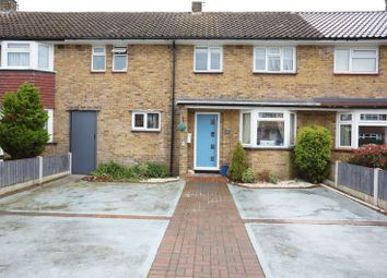 Thumbnail 3 bed terraced house for sale in Woodleigh Avenue, Leigh-On-Sea