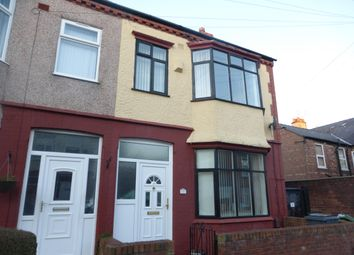Thumbnail 3 bed end terrace house to rent in Southdale Road, Rock Ferry, Birkenhead