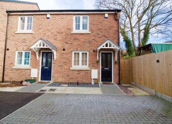 Thumbnail 2 bed town house for sale in Gold Hill Court, Wigston