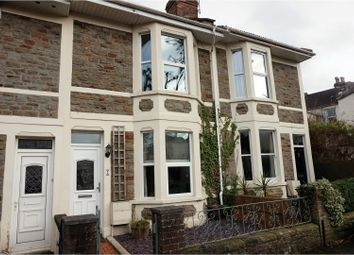 Thumbnail 2 bed terraced house for sale in Lawn Avenue, Fishponds
