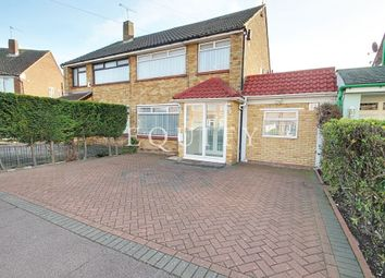 Thumbnail 4 bed semi-detached house for sale in Avondale Crescent, Enfield