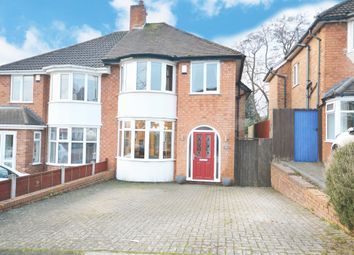 Thumbnail 3 bed semi-detached house for sale in Acheson Road, Hall Green, Birmingham