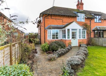 Thumbnail 3 bed semi-detached house for sale in Church Lane, Lathbury, Newport Pagnell