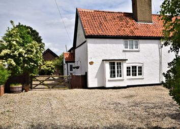 Thumbnail 2 bed semi-detached house for sale in The Street, Hockering, Dereham