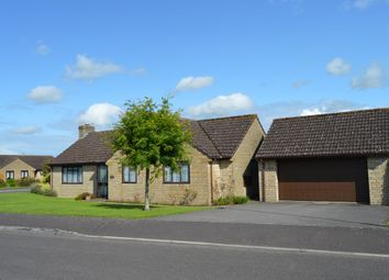 Thumbnail Detached bungalow for sale in Foxglove Close, Wyke, Gillingham