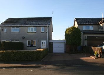 Thumbnail 3 bed semi-detached house for sale in Pinewood Park, Deans, Livingston